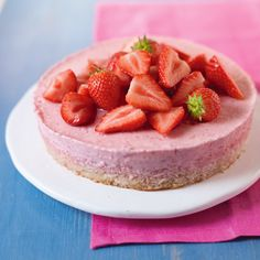 At last, a fruity, creamy mousse cake that's also dairy free