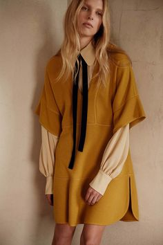 Mustard and ocher: The taste of Petrol and Porcelain | Interior design, Vintage Sets and Unique Pieces www.petrolandporcelain.com Chloé Pre-Fall 2015 Lookbook