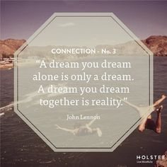 What can you dream up when you work together? #connection...