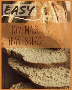 Vegan Bread, Vegan Butter, Honeypot, Yeast Bread, Vegan Baking, Yummy Food, Homemade, Easy, Recipes