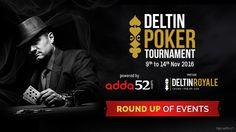 November 2016: Round up of Events – Deltin Poker Tournament Presented by Adda52.com