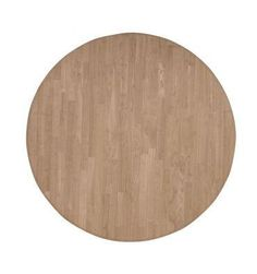 Inch] Solid Dining Table - Wood You Furniture A Table, Dining Table, Kitchen Dining, Dining Room, Unfinished Furniture, Hardwood Table, Round Table Top, Interior Accessories, Family Gatherings