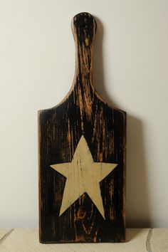 Country Star Cutting Board by englertandenglert on Etsy, $16.50