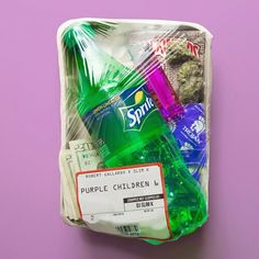 Who needs lunchables when you have a trap pack Sprites, Puff And Pass, Stoner Girl, Smoking Weed, Grafik Design, Vaporwave, Purple, Children, Photography