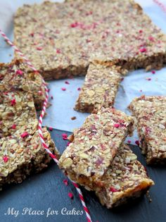 Rye Bread Recipes, Baking Recipes, Snack Recipes, Dessert Recipes, Desserts, Healthy Bars, Healthy Snacks, Food Crush, Fodmap Recipes