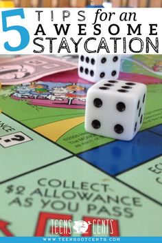 We don't always get to go somewhere exotic for our family vacations. Here are 5 ideas for any teen to help make their family staycation a lot of fun for everyone!