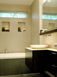 Contemporary | Bathrooms | Marie Burgos : Designer Portfolio : HGTV - Home & Garden Television
