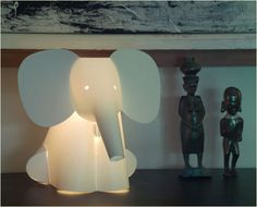 elephant light for nursery