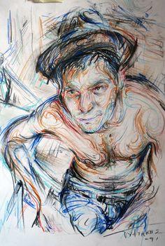 Nikos Gyftakis Nikos Gyftakis, Collages, Gcse Art, Art Blog, Drawings, Figurative, Empty, Relationships, Pencil
