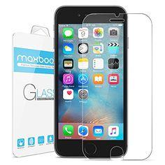 Sale Preis: iPhone 6S Screen Protector, Maxboost® iPhone 6 6S Glass Screen Protector (4.7 inch ONLY)[3D Touch Compatible- Tempered Glass] 0.2mm Screen Case Protection 99% Touch Accurate Fit(Lifetime Warranty). Gutscheine & Coole Geschenke für Frauen, Männer und Freunde. Kaufen bei http://coolegeschenkideen.de/iphone-6s-screen-protector-maxboost-iphone-6-6s-ballistic-glass-screen-protector-4-7-inch-only-tempered-glass-0-2mm-screen-case-protection-99-touch-screen-accurate-fi
