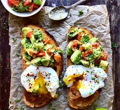 Easy Healthy Breakfast Ideas & Recipe to Start Excited Day - Healthy Eating İdeas For Exercise Healthy Breakfast Menu, Eat Breakfast, Healthy Snacks, Healthy Recipes, Breakfast Ideas, Keto Recipes, Breakfast Casserole, Mothers Day Breakfast, Healthy Breakfasts