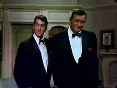 """Dean Martin Variety Show   Song with John Wayne """"Everybody Loves Somebody Sometime"""". :-)"""