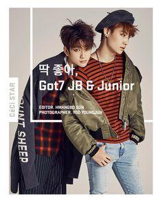 JB and JR - Ceci Magazine January Issue '16