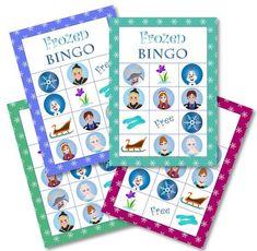 frozen bingo free printable - Buscar con Google Olaf Party, Frozen Birthday Party, 4th Birthday Parties, Frozen Party, Baby Birthday, Frozen Activities, Activities For Kids, Bingo For Kids, Frozen Free