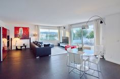 Superb #penthouse with large living room and a beautiful terrace view