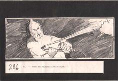 Octopussy - Handgezeichnetes Storyboard #286