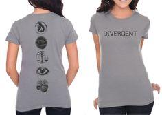 Divergent shirt available at hot topic NOW! NEEEEEEED ~Divergent~ ~Insurgent~ ~Allegiant~