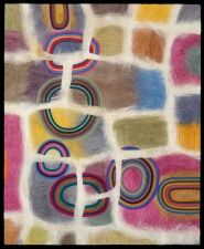 Jenne Giles felt painting