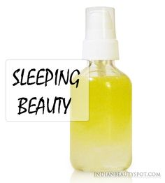DIY all natural pillow or body mist for a good night's sleep....