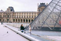 Paris Family Photo Session - Louvre