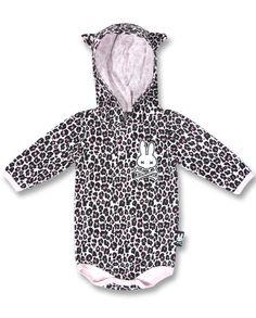 Six Bunnies Baby LEO pink Strampler.Tattoo,Biker,Oldschool,Custom Clothing Style