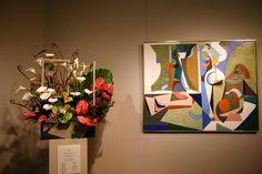 Boston Museum of Fine Arts, Art in Bloom 2004. Floral arrangement interpreting the art on the r    http://entertainment.webshots.com/photo/1137887295035079958qIOlrH
