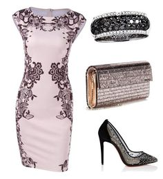 """chics"" by mchlap on Polyvore featuring Christian Louboutin, Jimmy Choo and Effy Jewelry"