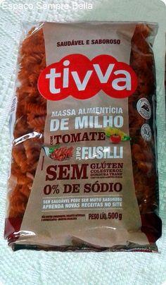 Espaço Sempre Bella: #Resenha - Massa Fusilli Com Tomate + Receita - Ti...