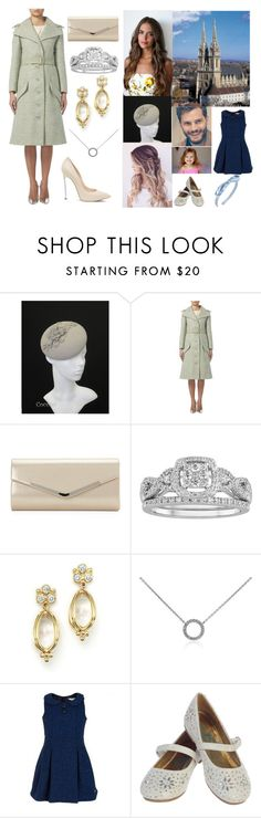 """Attending the Croatian Victory (Thanksgiving) Day Mass"" by hrh-amelia-of-croatia ❤ liked on Polyvore featuring Sasha, Modern Bride, Temple St. Clair, Casadei, Blue Nile, Little Marc Jacobs and L. Erickson"