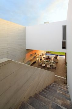 Llosa Cortegana Architects created this contemporary residence in 2011.  It was built on a site near the sea in Lima, Peru.