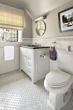 Cleaning Bathroom Tiles, Marble Tile Bathroom, Bathroom Floor Tiles, Bathroom Layout, Bathroom Ideas, Tile Floor, Family Bathroom, Tiled Bathrooms, Lowes Bathroom