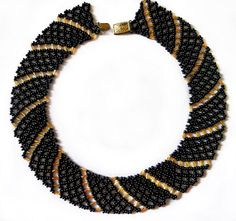 Free pattern for beaded necklace Katrina | Beads Magic#more-9338