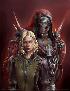 Darth Marr and Lana Beniko by Vixen11.deviantart.com on @DeviantArt