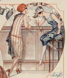 La Vie Parisienne 1925 1920s France Drawing - La Vie Parisienne 1925 1920s France Fine Art Print