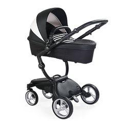 MIMA black and white stroller