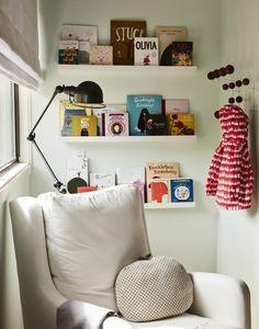 decorar estanterias
