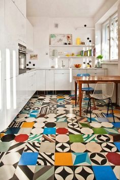 10 Beautifully Mismatched Kitchens, in Order of Increasing Moxie