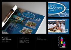 Proyecto: Anuncio para revista • Cliente: Carpaccio's House