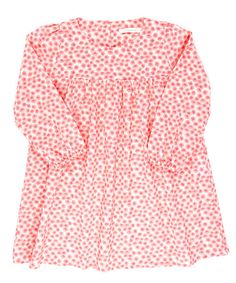 This pretty floral dress from Poppy Rose makes a gorgeous addition to your little miss' wardrobe. Elasticated cuffs and classic pleats decorate this printed piece.100% cottonMachine washableImported