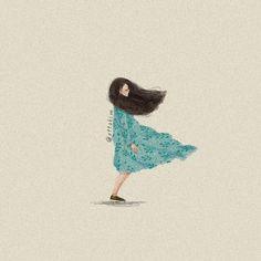 Illustration Girl, Watercolor Illustration, Watercolor Art, Chibi Manga, Cartoon Sketches, Cecile, Sketch Inspiration, Collage, Anime Art Girl