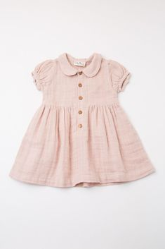 Light pink baby dress with collar and button placket things for kids dress # Baby Girl Dresses baby button collar dress kids Light pink placket Baby Girl Dresses, Baby Outfits, Vintage Baby Dresses, Smocked Baby Dresses, Baby Girl Fashion, Fashion Kids, Fashion Clothes, Womens Fashion, Fashion Outfits
