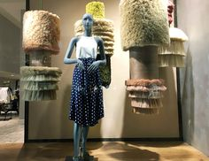 "ANTHROPOLOGIE, Rockefeller Center, New York, ""Fashion is the most powerful Art"", (Art&Style), photo by Stylecurated, pinned by Ton van der Veer"