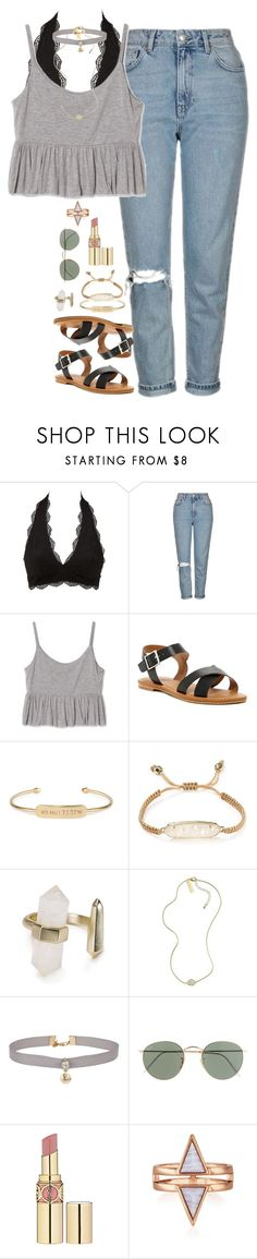 """""""spring outfit"""" by lilypackard ❤ liked on Polyvore featuring Charlotte Russe, Topshop, Abound, Stella & Dot, Kendra Scott, Miss Selfridge, J.Crew and Yves Saint Laurent"""