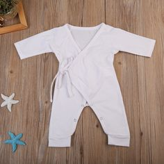 e94f1fe9b01e cute little wings baby romper autumn new long sleeves white gray newborn  baby boys girls romper cotton jumpsuit outfits