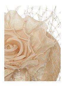 Silk Floral Pillbox