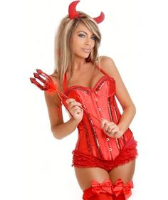 devil Sexy woman costumes halloween