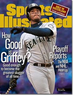 Griffey was well ahead of Hank Aaron's career home run pace until a series of injuries derailed his bid. / Sports Illustrated