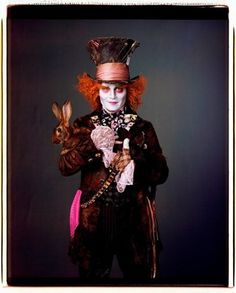 """©Disney - Se maquiller comme le chapelier fou dans """"Alice au pays des Merveilles"""""""