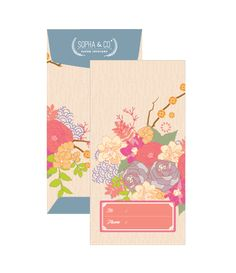 "Modern money envelope ""angpao"" design Envelope Design, Red Envelope, Packaging Design, Branding Design, Red Packet, Money Envelopes, Chinese Design, Sale Banner, Plant Design"