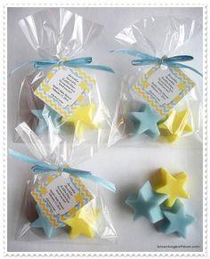 20 Twinkle Twinkle Little Star Soap Favors by brownbagbathbars, $30.00